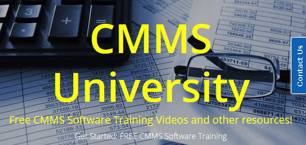 Free CMMS Software Training Web Site